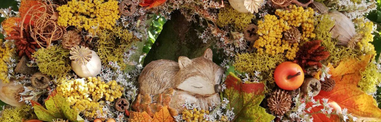 Věnec s liškou