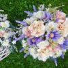 Fialový květináč