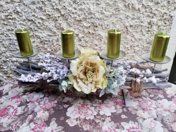 Advent s květem
