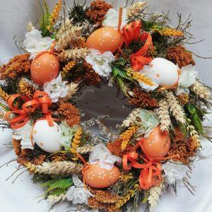 Věnec s vajíčky